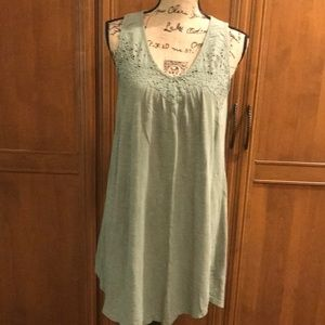 Lucky brand  dress light green